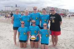 2. Damen VB Borkum 2012