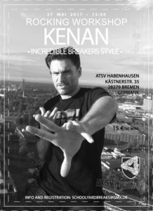 Kenan Workshop 2017 SYB Flyer